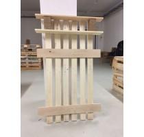Věšák z palet Euro Wood 85x15x130cm