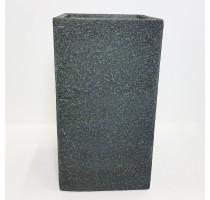 Marc vysoký square šedý 43x43x78cm