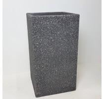 Marc vysoký square antracit 37x37x68cm