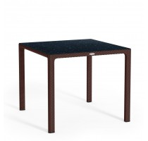 Stůl Lechuza HPL Cottage Mokka 90x90x75cm