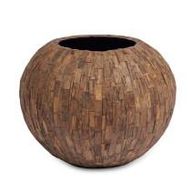 Cemani Teak Bowl 47x38cm