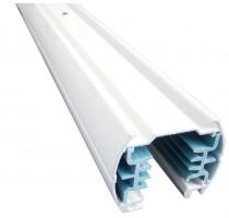 Hliníková lišta 200cm bílá-3 fáze