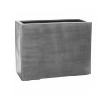 Fiberstone truhlík vysoký Grey 95x38x72cm