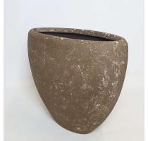 Polystone Rock Plain Ovál 90x40x70cm