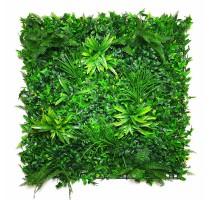 Umělá zelená stěna 100x100cm
