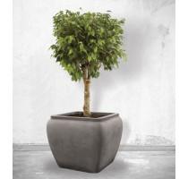 Alegria Water Jar Square Grey 65x65x53cm