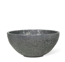 Crackle Aluminium Bowl 40x18cm
