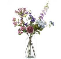 Umělá kytice pastelový mix XL 10 stonků