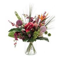 Umělá kytice exotický mix 27 stonků