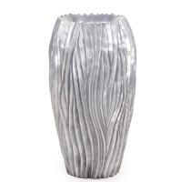 River Vase Aluminium 39x70cm
