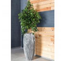 River Vase Aluminium 46x100cm