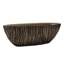 River Oval Antik Bronze 75x25x25cm