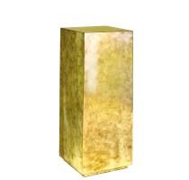 Pandora Gold Leaf Pedestal 30x30x80cm