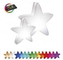 Svítící hvězda LED mini 51x13x50cm