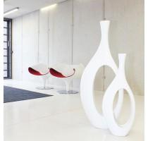 Váza Indigo White 51x15x127cm