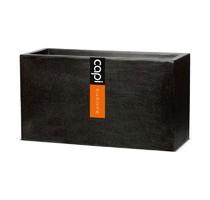 Capi Lux truhlík černý 64x25x35cm