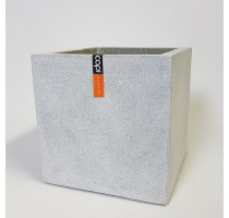 Capi Lux krychle šedá 100x100x100cm