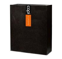 Capi Lux vysoký truhlík černý 88x36x100cm