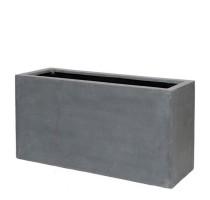 Fiberstone truhlík Grey 100x40x50cm