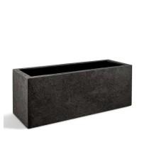 D-lite truhlík M hrubý tmavě šedý 100x50x50cm