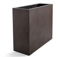 D-lite vysoký truhlík Rusty Iron Concrete 80x30x68cm