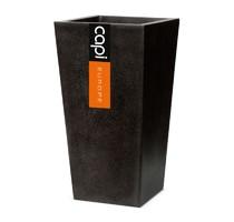 Capi lux kvádr kónický černý 24x24x46cm
