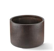 D-lite Cylinder Rusty Iron 48x32cm