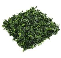 Umělá zelená stěna zahradní mix 50x50cm