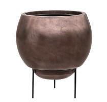 Metallic globe coffee 34x31cm