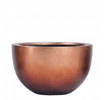 Metallic mísa copper 45x27cm