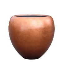 Metallic couple copper 60x55cm