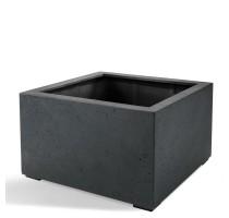 D-lite Low Cube L Antracit 100x100x60cm