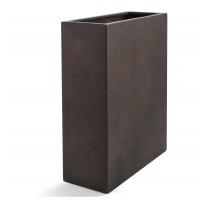 D-lite vysoký truhlík M Rusty Iron Concrete 60x24x74cm