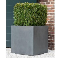 Fiberstone Square Grey 40x40x40cm