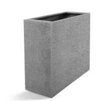 D-lite vysoký truhlík hrubý šedý 90x40x70cm