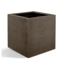 D-lite Cube M hrubý hnědý 40x40x40cm