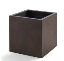 D-lite Cube XXL Rusty Iron Concrete 80x80x80cm