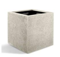 D-lite Cube XL hrubý natural 60x60x60cm