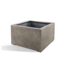 D-lite Cube Low L Natural Concrete 100x100x60cm