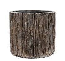 Lite Universe Waterfall Cylinder Bronze 33x31cm