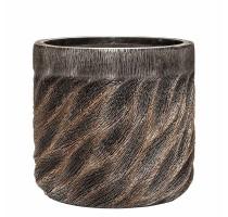 Lite Universe Wave Cylinder Bronze 40x38cm
