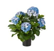 Umělá Hortenzie Blue 53cm