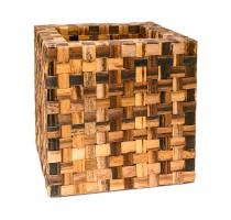 Banana Cube Brown 44x44x44cm