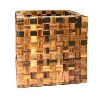 Banana Cube Brown 56x56x56cm