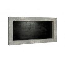 Rám šedý 100x50cm pro stabilizované mechy