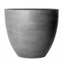 Fiberstone Jumbo Round Grey S 83x73cm