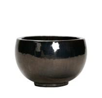 Metal Glaze Bowl 47x29cm