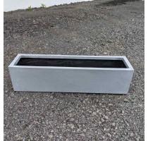 Fiberstone truhlík Grey 100x30x25cm