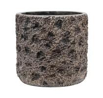 Lite Universe Moon Cylinder Bronze 23x22cm