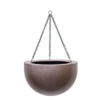 Gradient závěsná mísa coffee 33x21cm - BAZAR